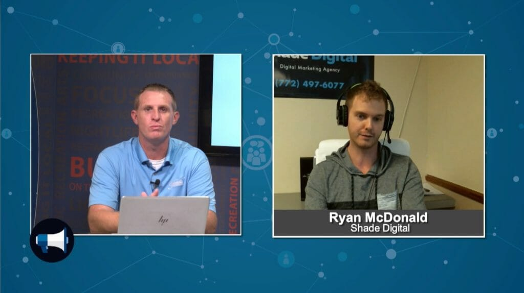 """BluHorn TV –  """"5 Minutes With"""" with Ryan McDonald from Shade Digital"""