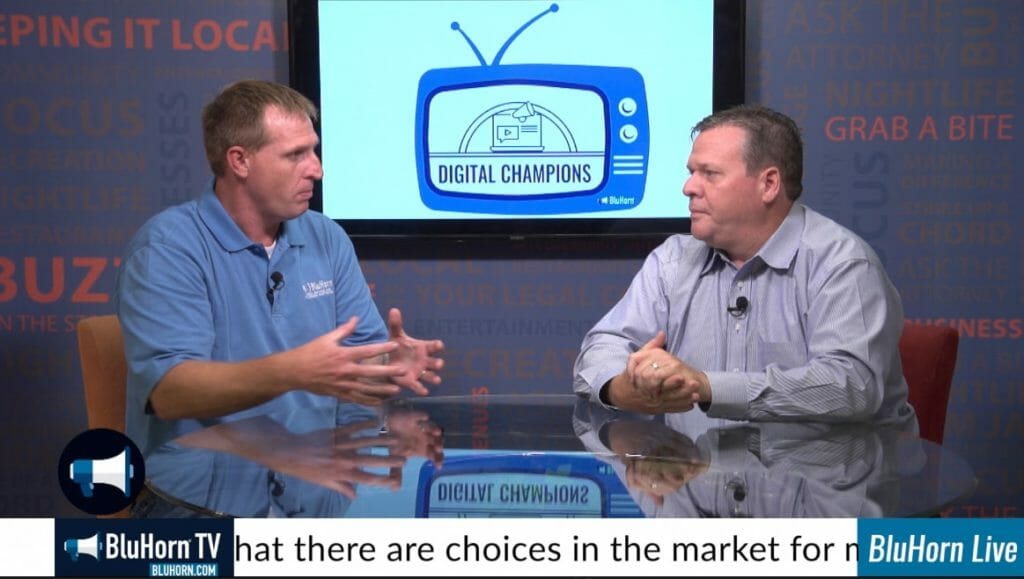 "BluHorn TV – ""Digital Champions"" with Jim Walker from CloudHesive"