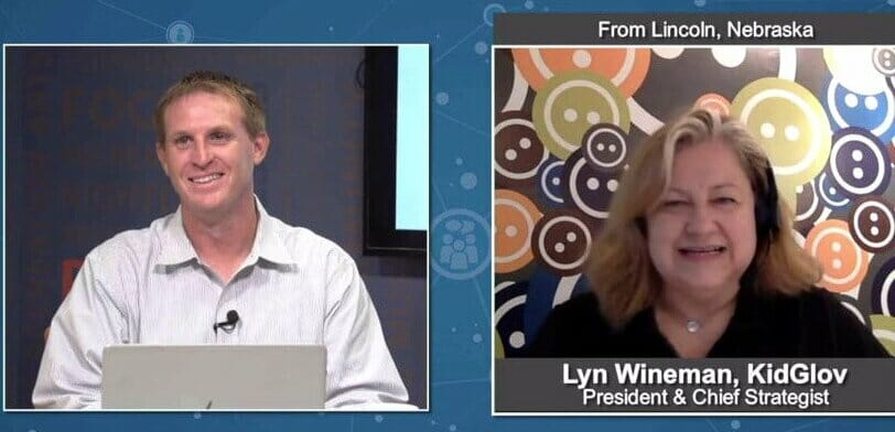 "BluHorn TV ""Five Minutes With"" Lyn Wineman from Kid Glov"