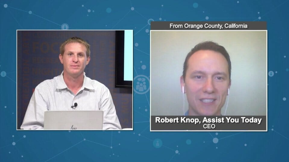 "BluHorn TV ""Digital Champions"" with Robert Knop from Assist You Today"