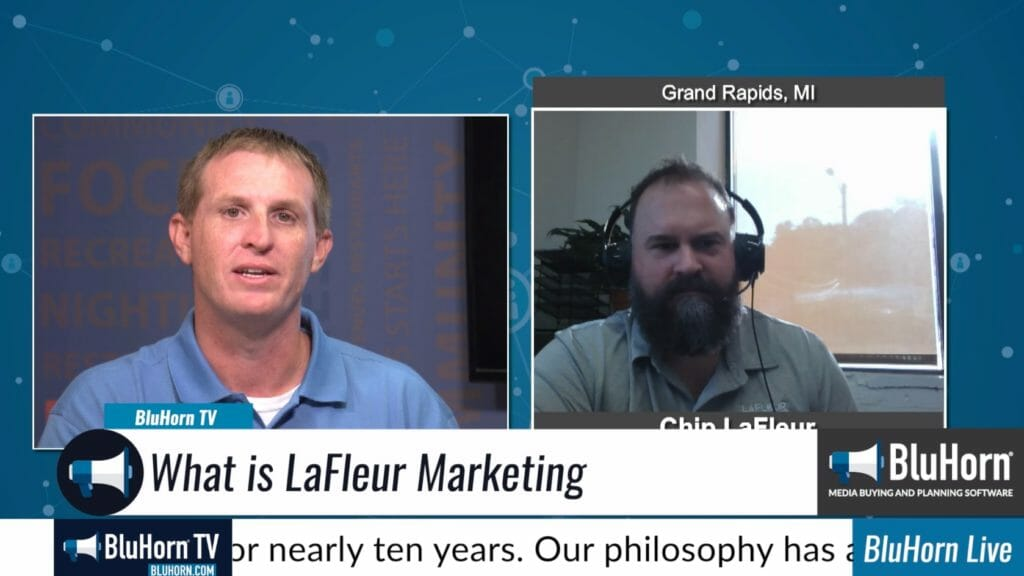 "BluHorn TV – ""DIgital Champions"" with Chip LaFleur with LaFleur Marketing"