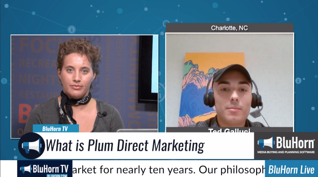 "BluHorn TV – ""5 Minutes With"" Ted Galluci from Plum Direct Marketing"