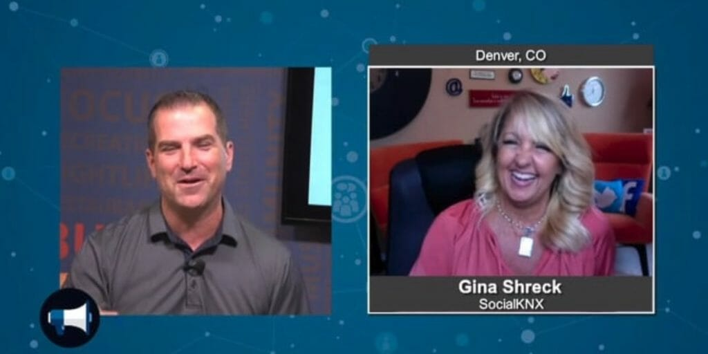 """""""5 Minutes With""""  Gina Shreck from Social KNX"""