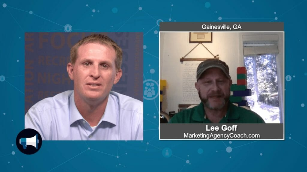 """5 Minutes With""  Lee Goff from Marketing Agency Coach"