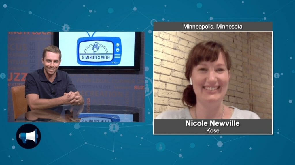 """5 Minutes With"" Nicole Newville from Kose"