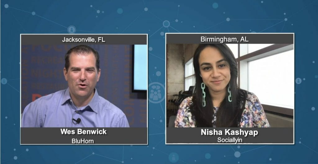 """Marketing Champions"" with Nisha Kashyap from Sociallyin"