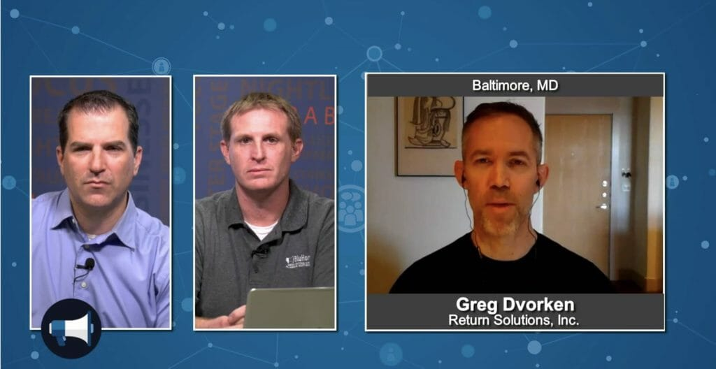 """5 Minutes With"" Greg Dvorken from Return Solutions, Inc."