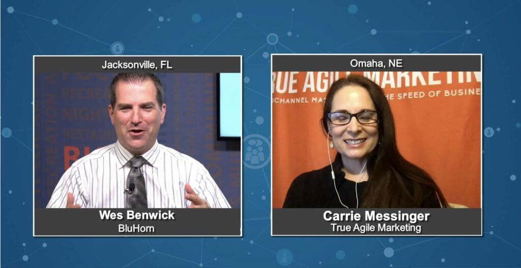 """Marketing Champions"" with Carrie Messinger from True Agile Marketing"