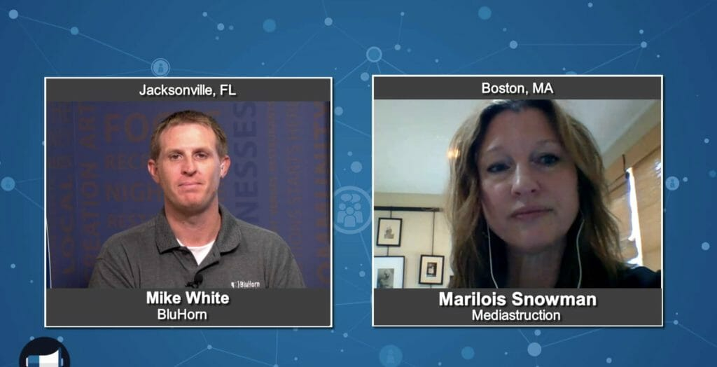 """Marketing Champions"" with Marilois Snowman from Mediastruction"