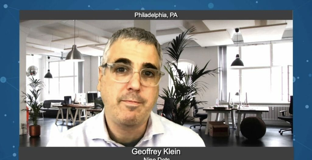 """5 Minutes With"" Geoffrey Klein from Nine Dots"