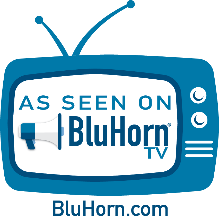 As seen on Bluhorntv Logo