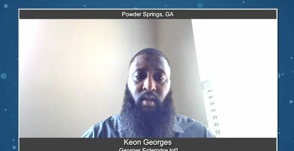 """5 Minutes With"" Keon Georges from Georges Enterprise Int'l"