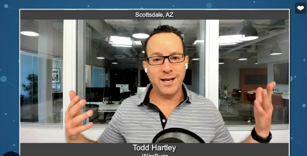"""Marketing for Your Future"" with Todd Hartley from WireBuzz"