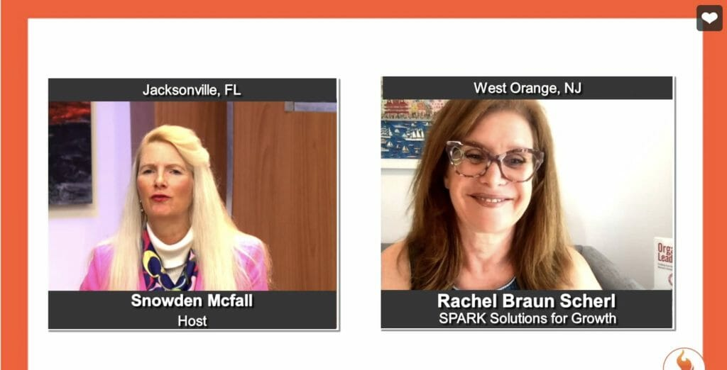 """""""Ignite Success"""" with Rachel Braun Scherl from SPARK Solutions for Growth"""