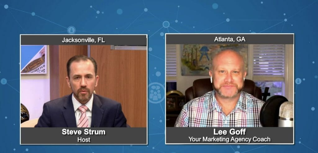 """""""Marketing Buzz"""" with Lee Goff from Your Marketing Agency Coach"""