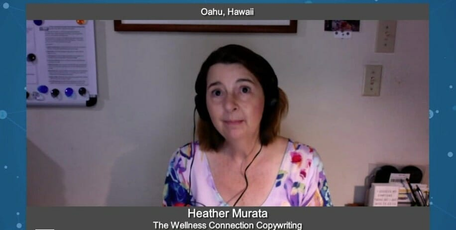 """""""Marketing for Your Future"""" with Heather Murata from The Wellness Connection"""
