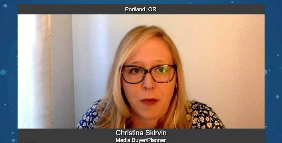 """5 Minutes With"" Christina Skirvin"