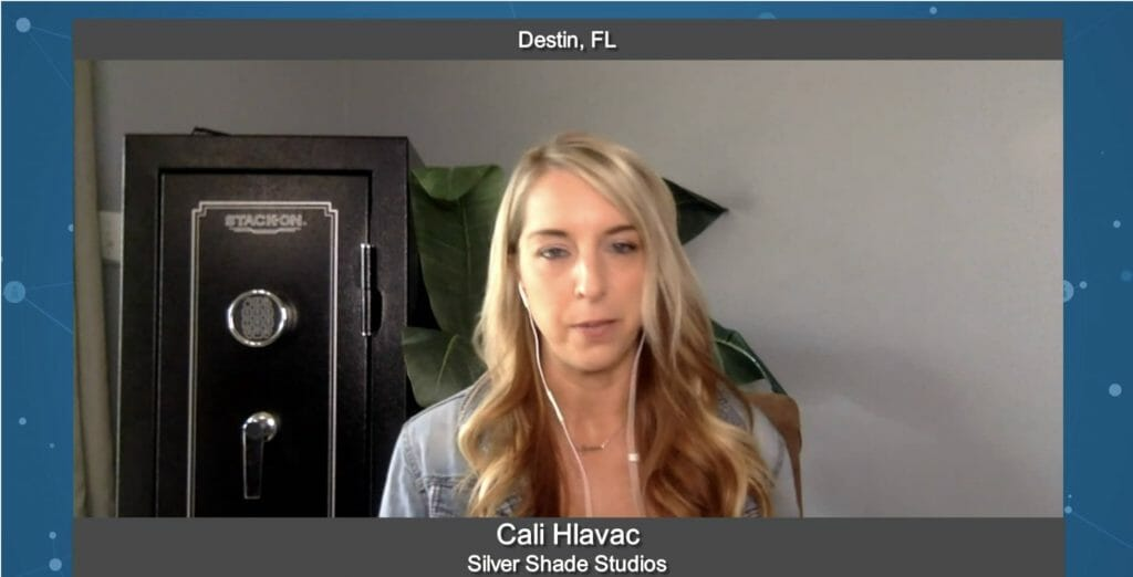 """Marketing for Your Future"" with Cali Hlavac from Silver Shade Studios"