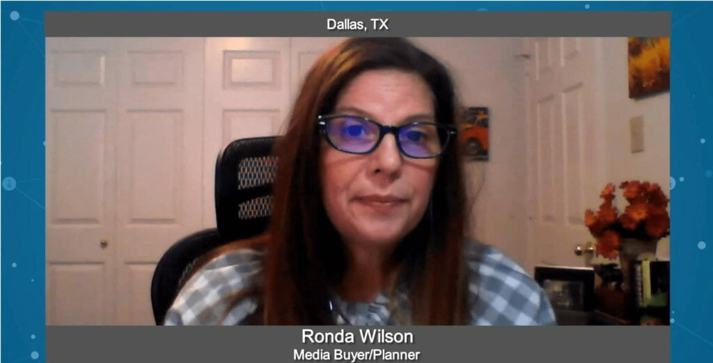 """Marketing Champions"" with Ronda Wilson, Media Buyer & Planner"