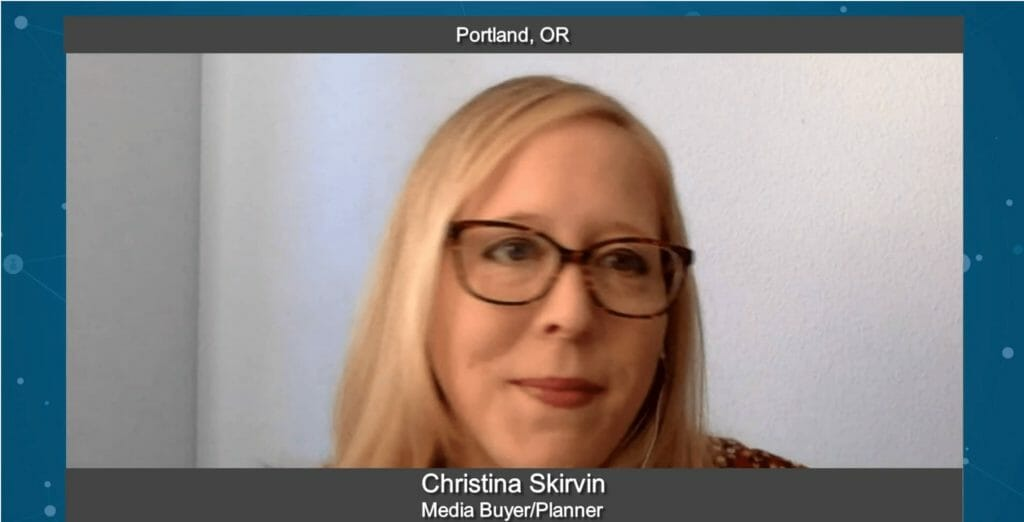 """Marketing Champions"" with Christina Skirvin, Media Buyer & Planner"
