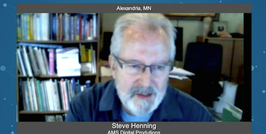 """Biz Buzz"" with Steve Henning from AMS Digital Productions"