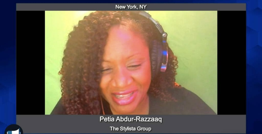 """Marketing Champions"" with Petia Abdur-Razzaaq from The Stylista Group"