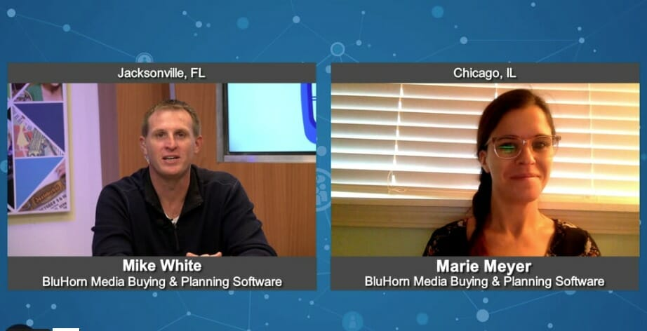 """""""5 Minutes With"""" Marie Meyer from BluHorn Media Buying and Planning Software"""