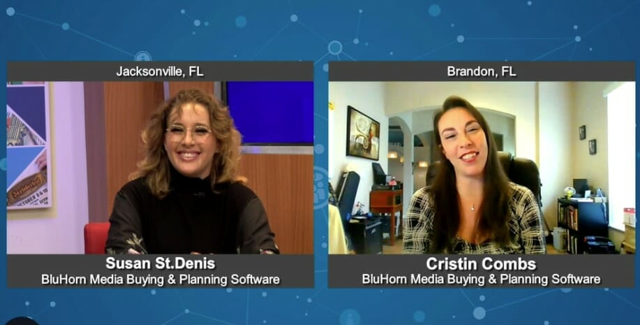 """""""Marketing For Your Future"""" with Cristin Combs from BluHorn Media Buying & Planning Software"""