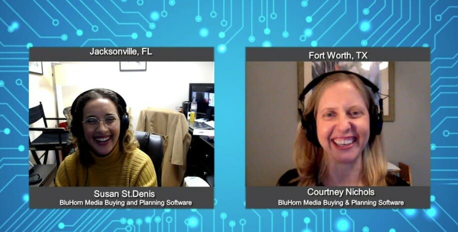 """Digital Champions"" with Courtney Nichols from BluHorn Media Buying and Planning Software"
