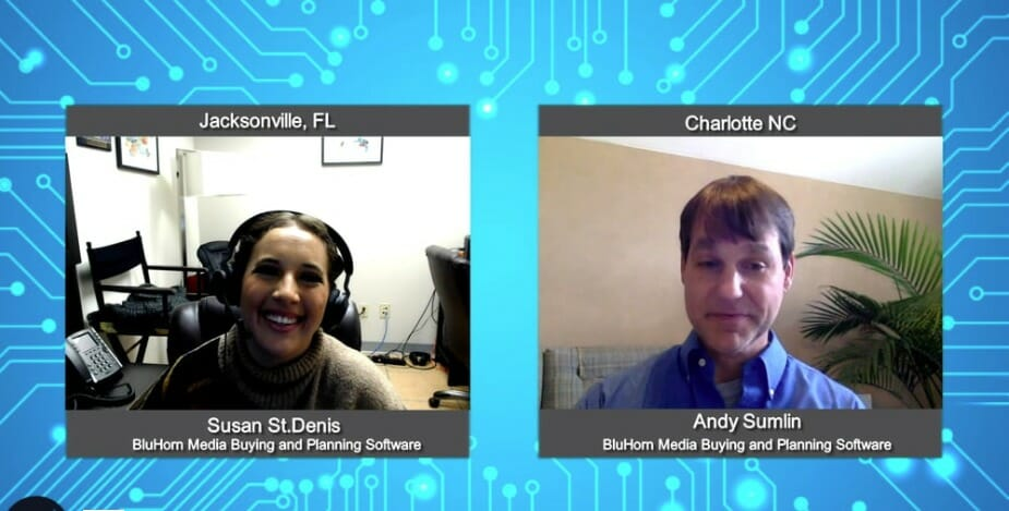 """""""Digital Champions"""" with  Andy Sumlin with BluHorn Media Buying and Planning Software"""