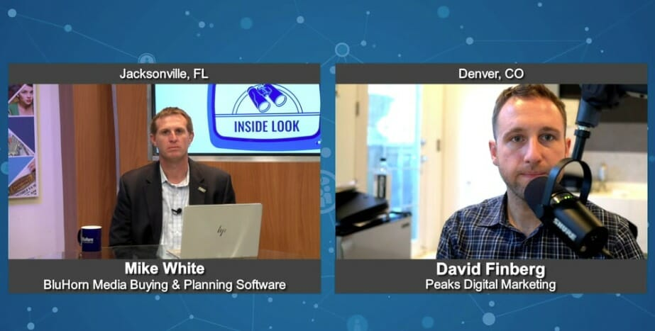 """Inside Look"" with  David Finberg from Peaks Digital Marketing"