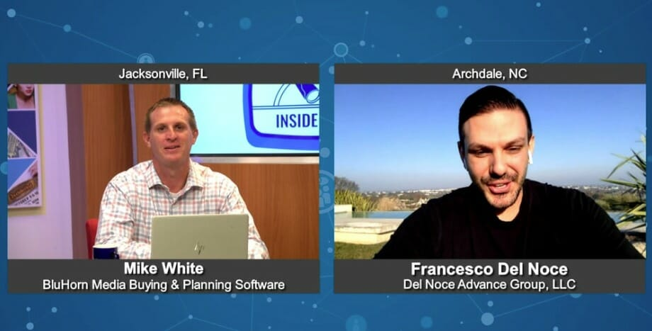 """""""Inside Look"""" with Francesco Del Noce from Del Noce Advance Group LLC"""
