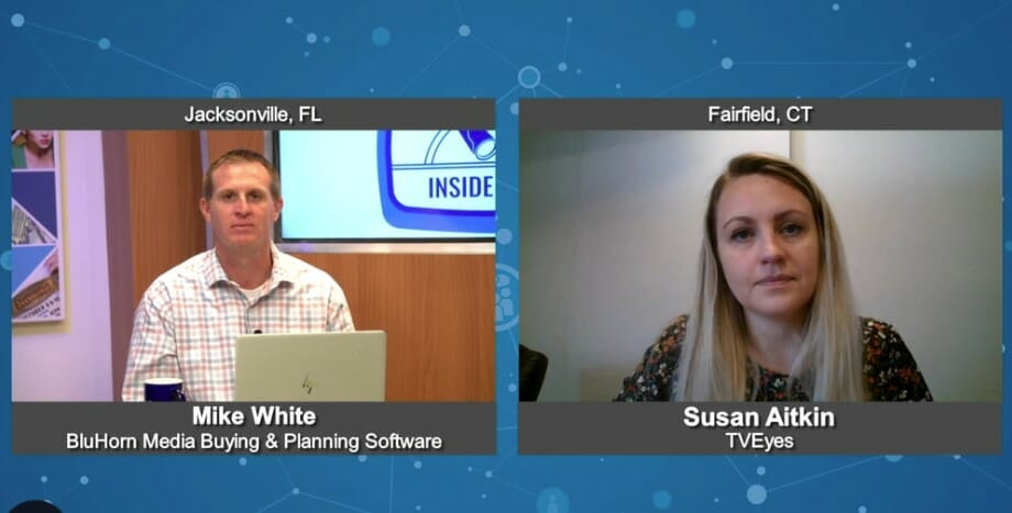 """""""Inside Look"""" with Susan Aitkin from TVEyes"""