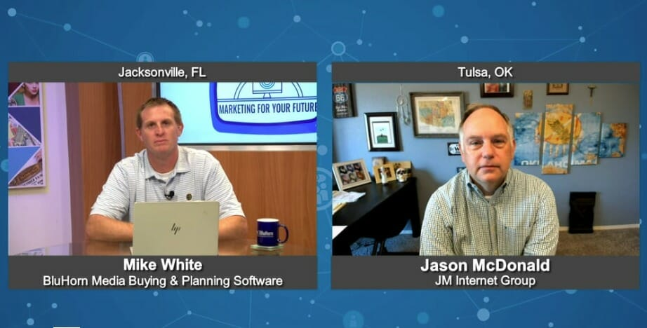 """""""Marketing For Your Future"""" with Jason McDonald from the JM Internet Group"""