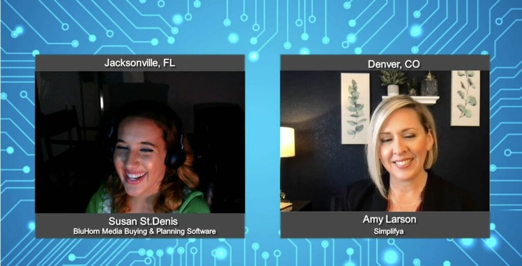 """""""Media Champions"""" with  Amy Larson from Simplifya"""