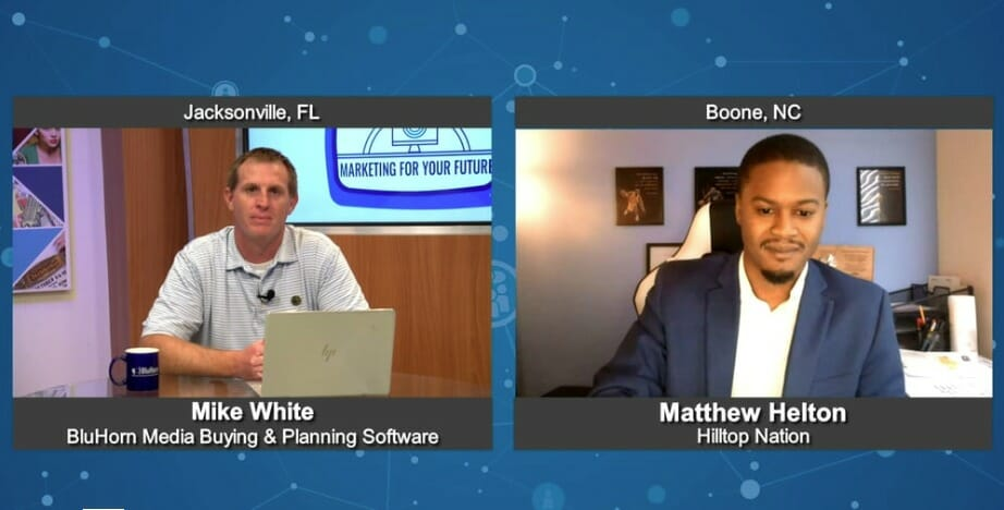 """""""Marketing For Your Future"""" with  Matthew Helton from Hilltop Nation"""