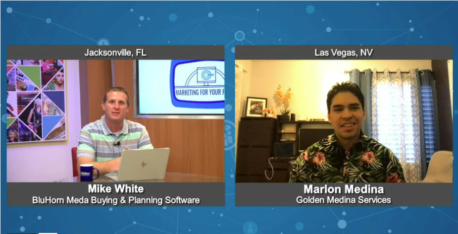 """""""Marketing For Your Future"""" with  Marlon Medina from Golden Medina Services"""