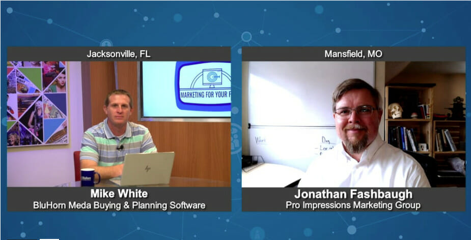 """""""Marketing For Your Future"""" with Jonathan Fashbaugh from Pro Impressions Marketing Group"""
