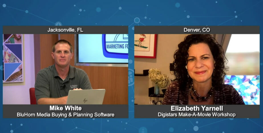"""""""Marketing For Your Future"""" with  Elizabeth Yarnell from Digistars Make-A-Movie Workshop"""