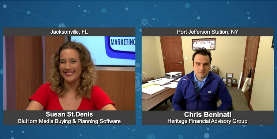 """""""Marketing For Your Future"""" with Chris Beninati from Heritage Financial Advisory Group"""