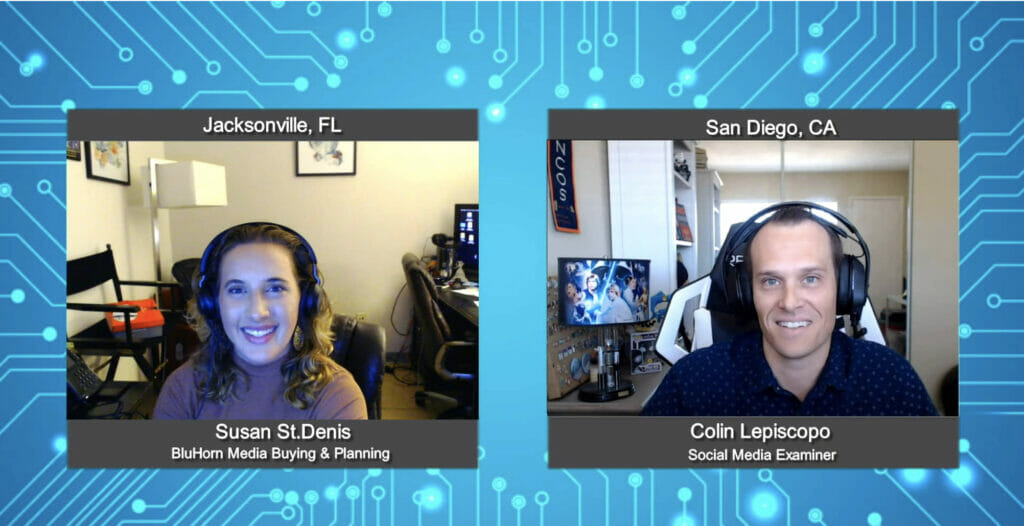 """""""Media Champions"""" with Colin Lepiscopo from Social Media Examiner"""