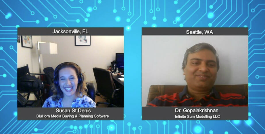 """""""Media Champions"""" with Dr. Gopalakrishnan from Infinite Sum Modelling LLC"""