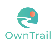Owntrail Logo Stacked Transbg